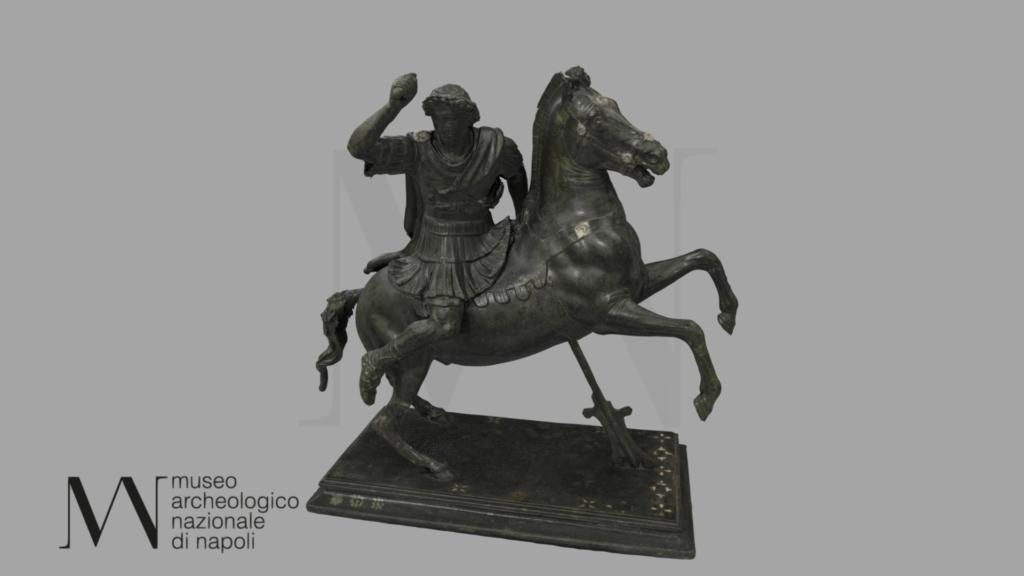 Alejandro magno a caballo mann