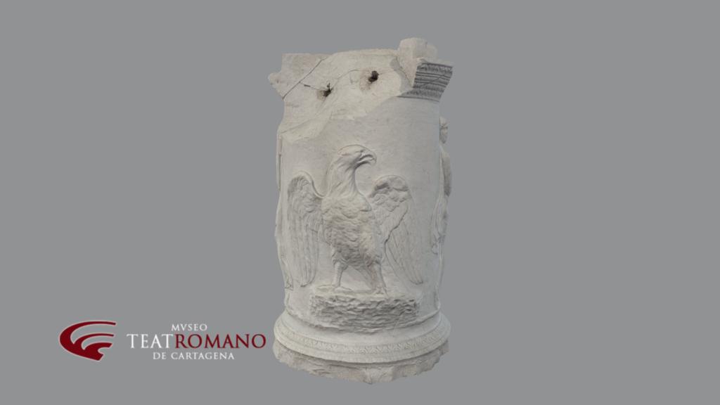 altar jupiter museo teatro romano cartagena