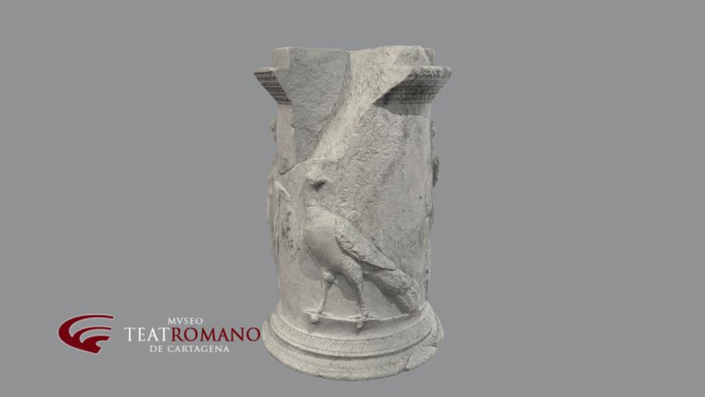 altar juno museo teatro romano cartagena