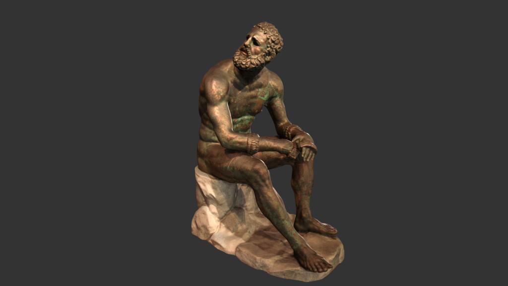 boxeador museo nazionale romano