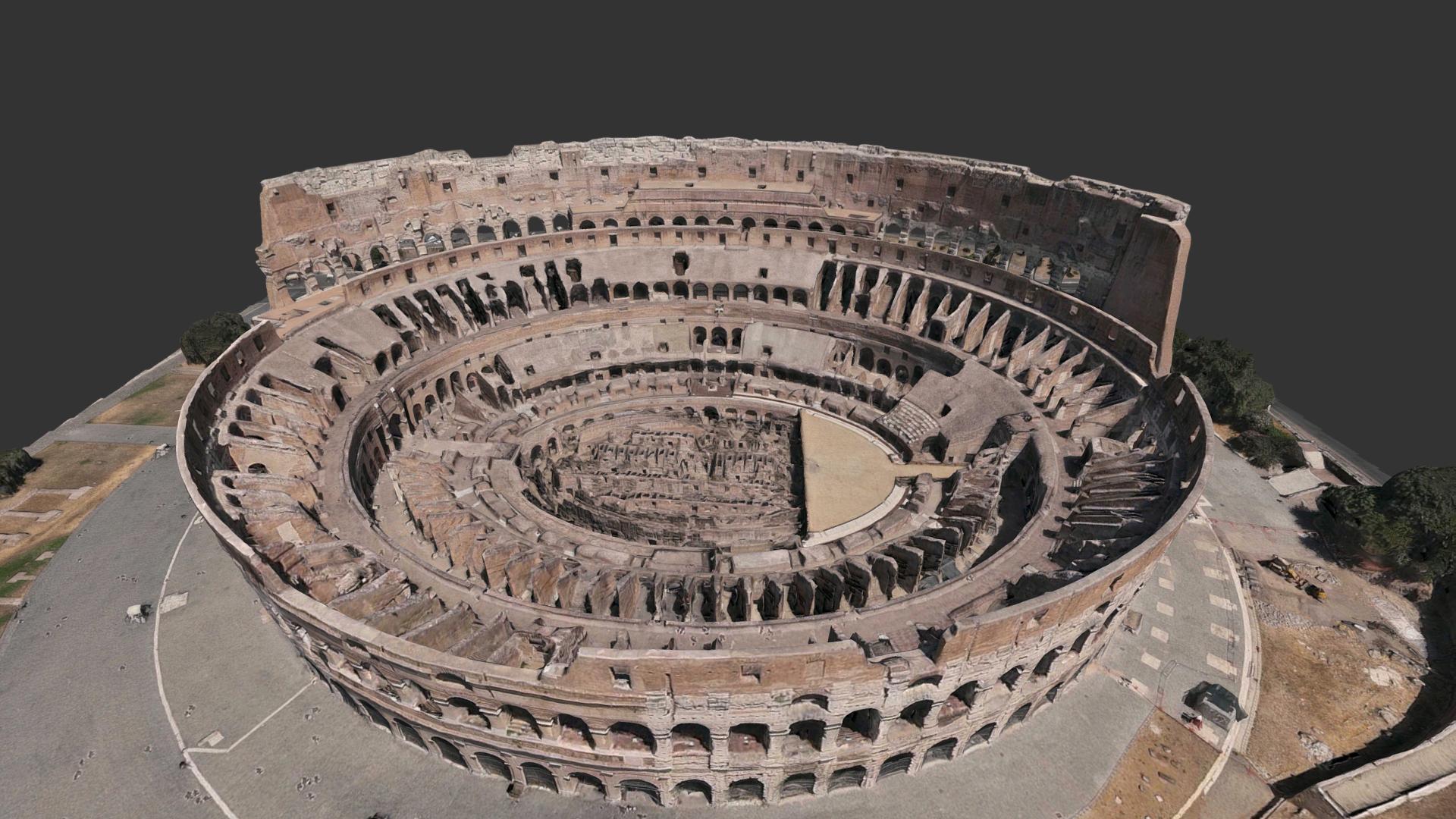 Coliseo De Roma Antigua Roma Al Día