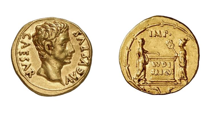 aureo ludi saeculares augusto