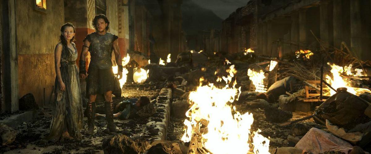Pompeya, la película (de ciencia ficción)
