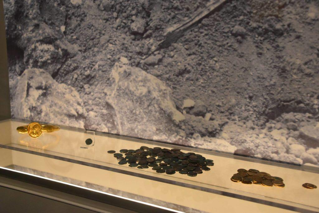 exposición tesori sotto i lapilli pompeii