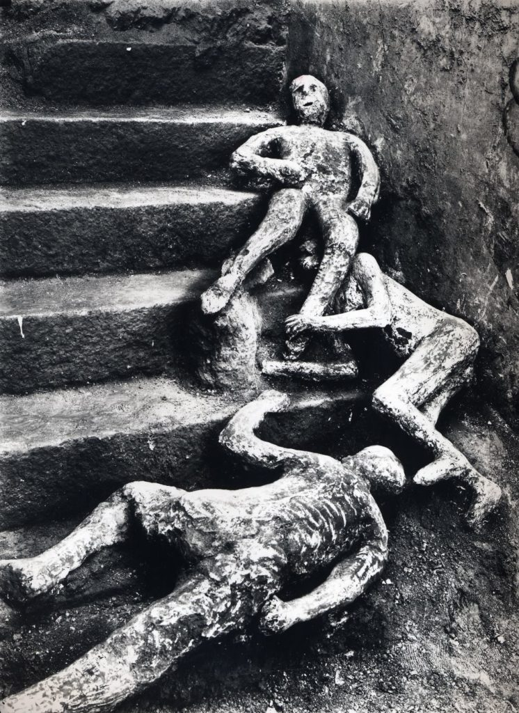 pompeya yesos hallados en la casa de Marco Fabio Rufo