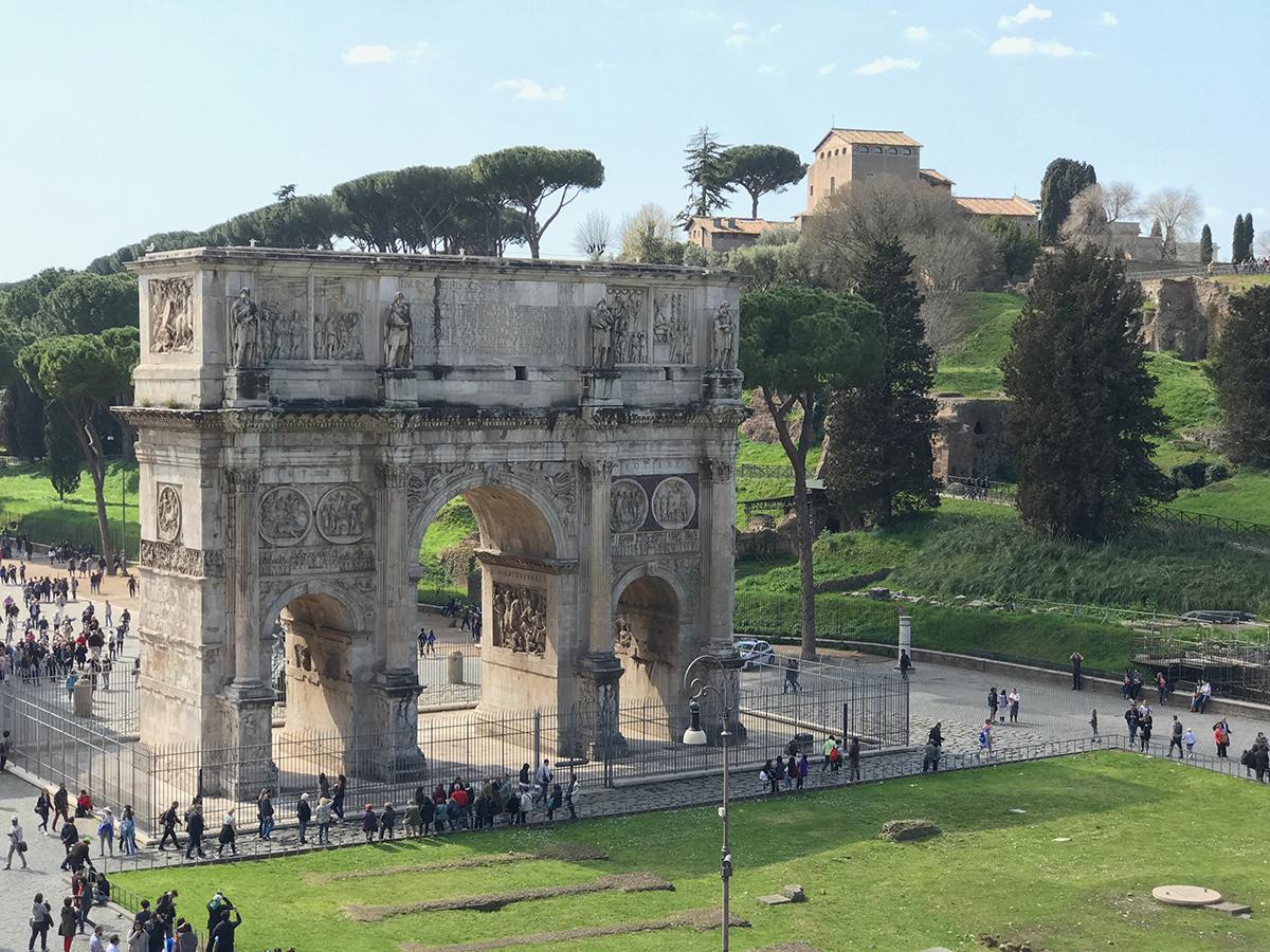 arco de constantino roma