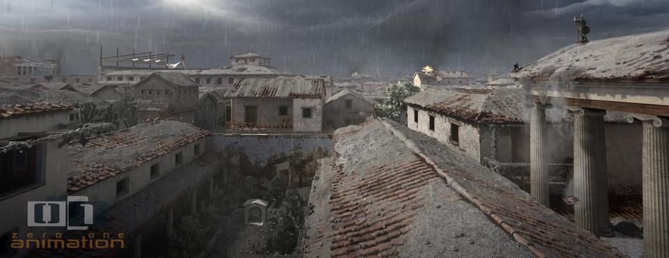 La verdadera fecha de la destrucción de Pompeya