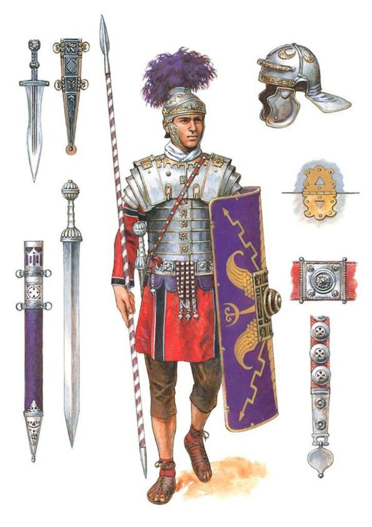 pretoriano dibujo