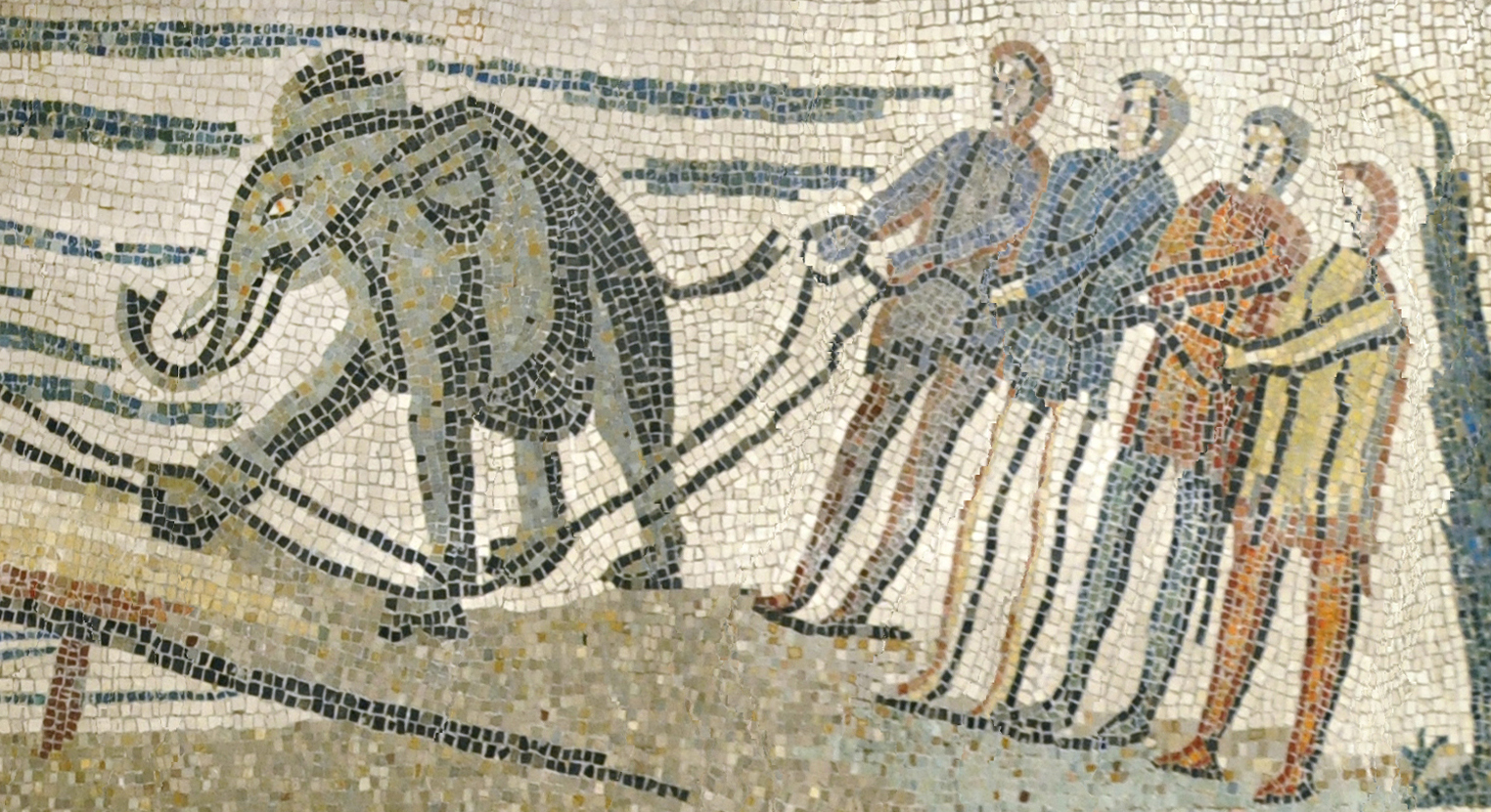 Sangre en la arena: animales en la antigua Roma
