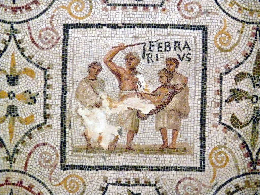 mosaico sousse febrero februarius