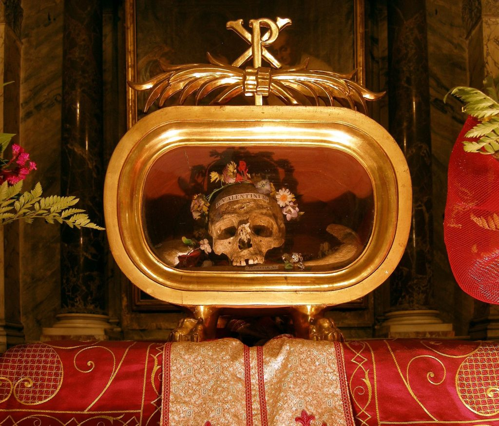 san valentin santa maria in cosmedin roma