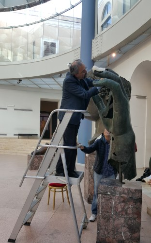 dedo constantino museos capitolinos replica 3D