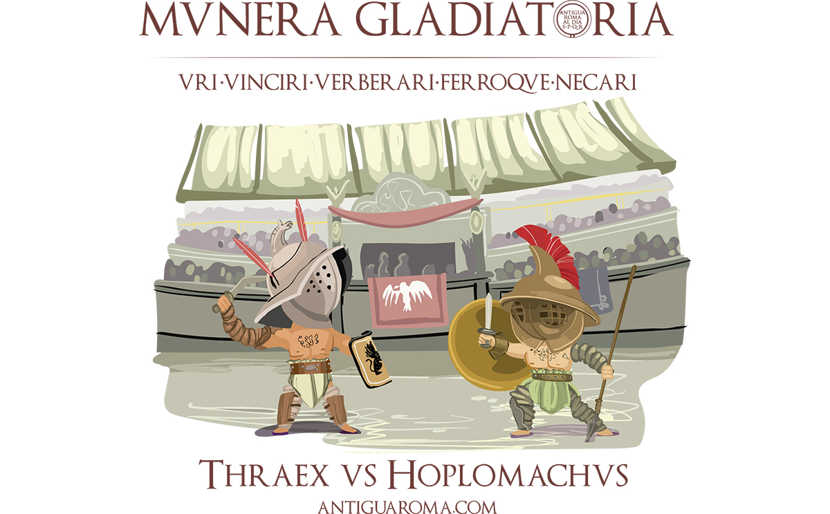 Munera gladiatoria, grandes espectáculos romanos