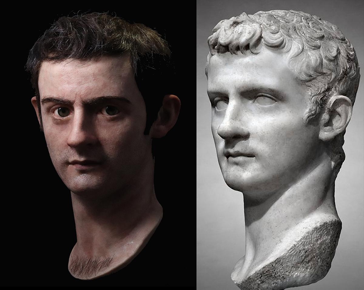 El verdadero rostro de Calígula