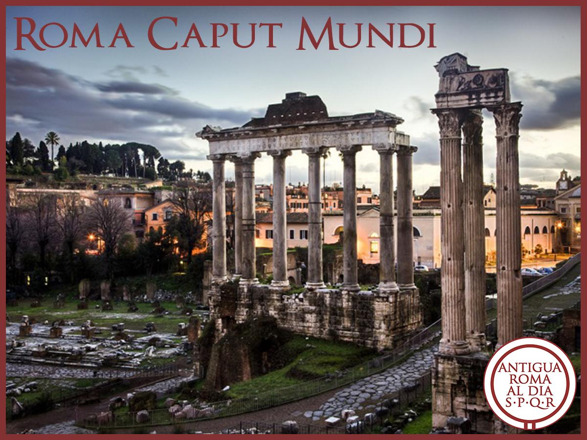Roma caput mundi viaje ARD