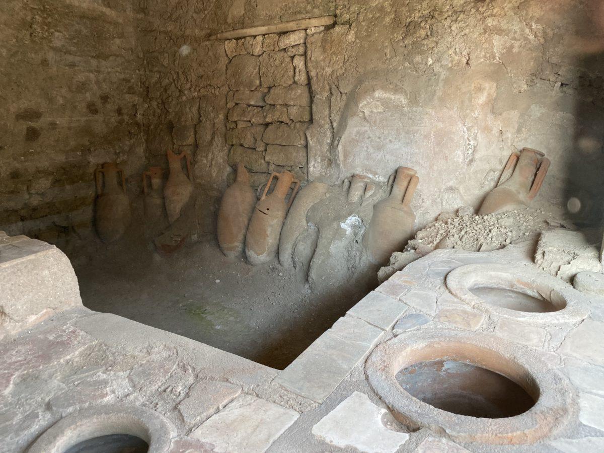 Pompeya caupona viajes ARD
